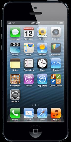 iphone 5 - menjava stekla / menjava lcd ekrana / servis